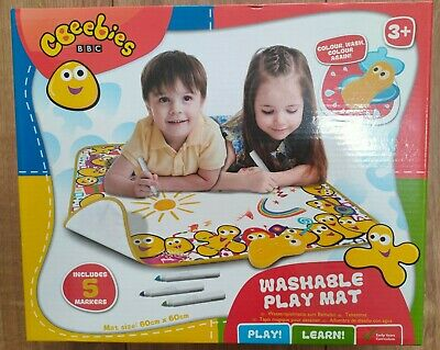 Magnet drawing board Online Street CBeebies Washable Colouring Play Mat Draw write Erase Birthday toys for kids toddler age 3+