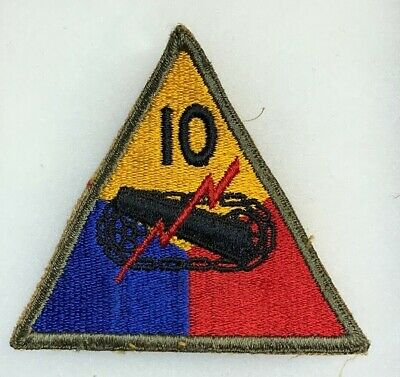 WORN OR NOT Details about  /ORIGINAL WWII PICK ONE US ARMY 10th DIVISION PATCH
