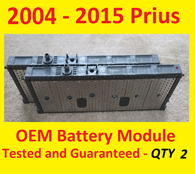 (2) 7.6v+ Toyota Prius Battery Cell Module 2004 2005 2006 2007 2008 2009 2010...