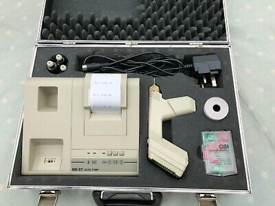 Grason Stadler GSI 37 Tympanometer, set complete with carrying case