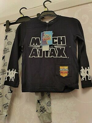 Topps Match Attax Boys Football Long Pyjamas