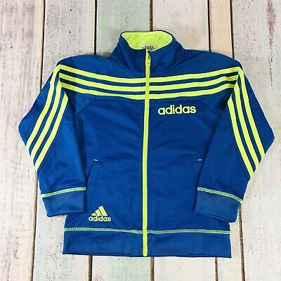 ADIDAS Blue Full Zip Up Tracksuit Track Jacket Size Age 5 Years
