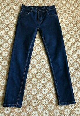 NEXT boys skinny jeans with adjustable elastic band VGC age 12 years