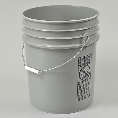 5 Gallon Plastic Pail - Second Inexpensive Discount Cheap