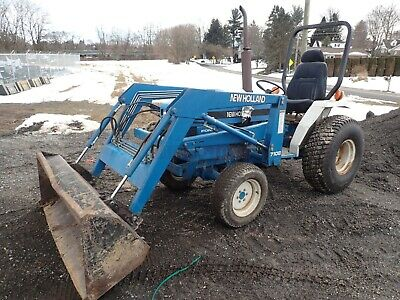 New Holland 1715 Compact Tractor W/ Loader, 23 Hp Diesel, 4X4, 540 Pto, 992 Hrs!