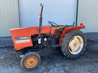 1977 Allis Chalmers 5020 Tractor, 2Wd, 3 Pt, 540 Pto, 998 Hrs, 25 Hp Toyosha