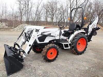 New Bobcat Ct2035 Tractor W/ Front Loader & Backhoe, 4X4, Hydro, 34.9 Hp