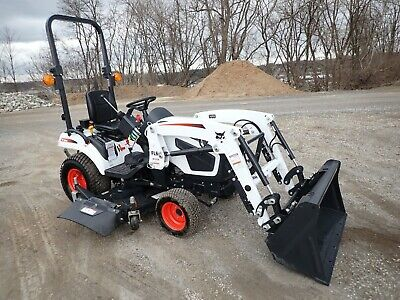 New  Bobcat Ct1025 Compact Tractor W/ Loader & Belly Mower, Hydro, 4X4