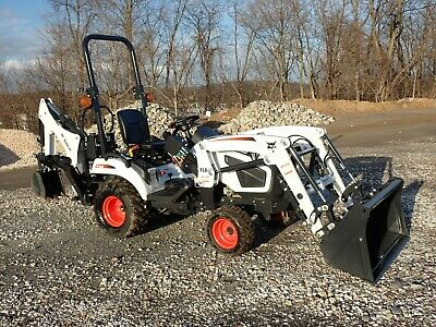 New Bobcat Ct1025 Tractor Loader Backhoe, 4X4, Hydro, 24.5 Hp Diesel, 540 Pto