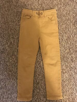 George Boys Beige Stretch Jeans 4-5 Years Great Condition