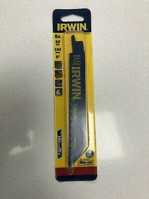 IRW10504151 Sabre Saw Blade 610R 150mm Metal & Wood Cutting Pack of 5