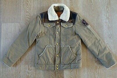 Scotch Shrunk Boys Jacket Coat Size 10 EUC
