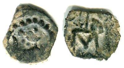Central Asia. Chach, AE, lion left with sogdian #12
