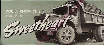 Vintage Kelly Springfield Tires You'll Know this Tire is a Sweetheart Brochure
