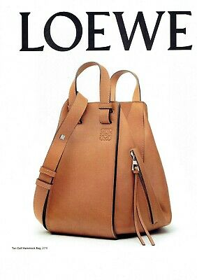 LOEWE Original Magazine Print Ad 2pg clippings Collectable Advert Vogue 2016