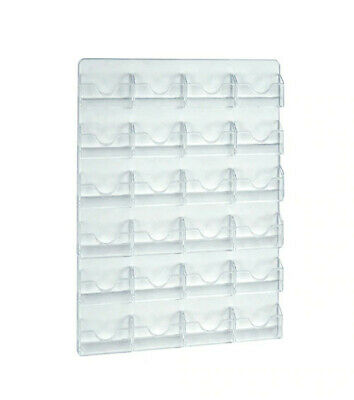 Wall Mount Card Holder 15.625 W x 18 H Inches with 24 Pockets - Case of 2