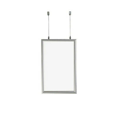 Clear Double Side Hanging Frame 11 W x 17 H Inches