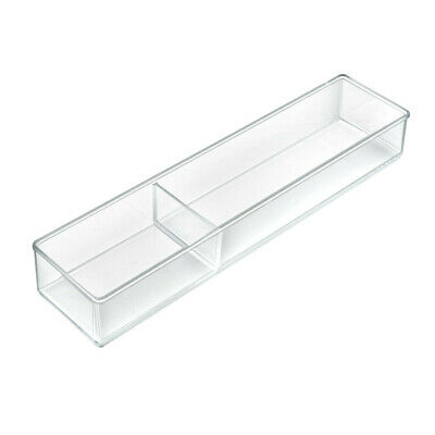 Rectangle Cosmetic Organizer 15.75 W x 3.625 D x 1.875 H Inches - Case of 2