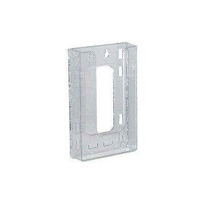 Trifold Wall Mount Brochure Holder 4.625 W x 1.25 D x 7.875 H Inches - Lot of 10