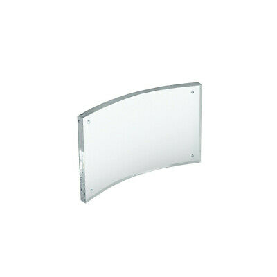 Curved Magnetic Sign Holder 6 W x 4 H Inches - Set of 2