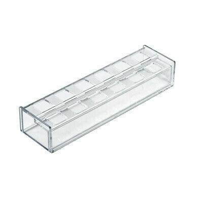 Lipstick Organizer 9.25 W x 2.5 D x 1.75 H Inches with 12 Compartment - Lot of 2