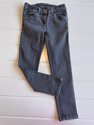 Boys Next Age 6 Years grey skinny jeans adjustable waist button & zip good cond