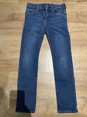 GAP STRETCHY SKINNY BOYS JEANS, Blue, Size XL