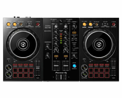 Pioneer DDJ-400 2-Deck Digital DJ Controller w/ Rekordbox Software DDJ400