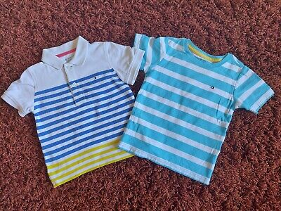 Boys Tommy Hilfiger  designer Top Bundle Age 3 Years