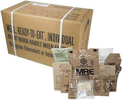 USGI Meals Ready-to-Eat MRE Your Choice Menu Individual Meals Factory Sealed