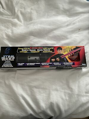 Star Wars Sealed Power Of The Force Darth Vader Lightsaber