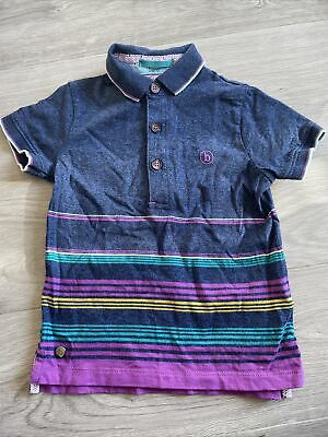 Boys Baker By Ted Baker Polo T-shirt age 2 - 3