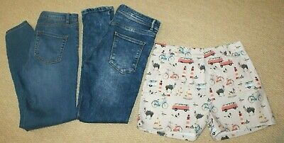 2 x JEANS and 1x shorts NEXT   Age 12 (152cm) or size UK 6-8 Ladies