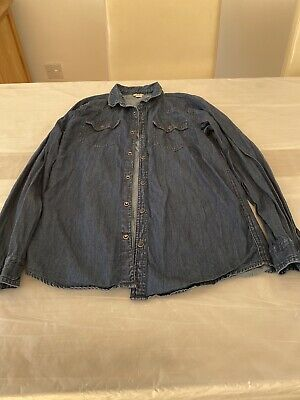 Boys River Island Jean Long Sleeves Shirt Age 11 / 12 Years
