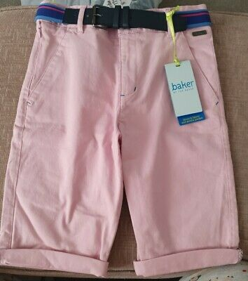 BNWT - Ted Baker Denim Pink Jeans - Size Age 10 Years - Adjustable Waist