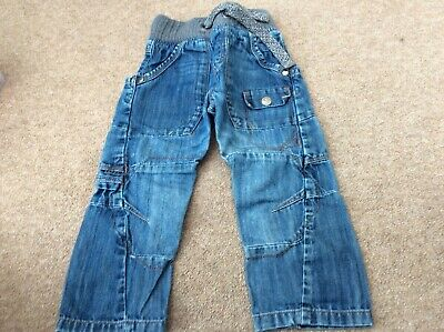 Boys clothes. Next  jeans with rib waist. Age 3yrs