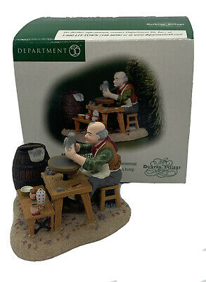 Department 56 Dickens/' Village The Steeplechase Horse Racing Figurine NOS New!