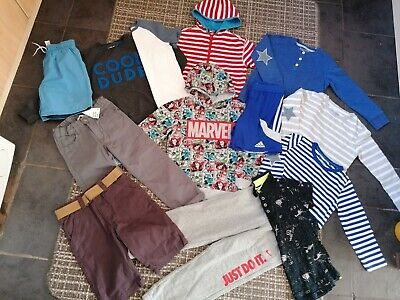 Boys Size 5-6 Years Clothing Bundle, Nike, John Lewis Adidas next Etc