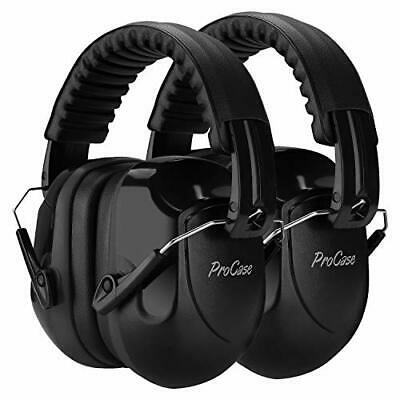 [2 Pack]  Adult Ear Defenders, SNR 34 dB, Shooting Noise Cancelling