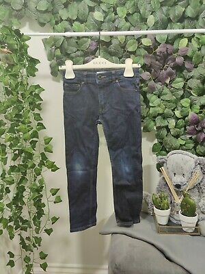 Burberry Children Kids Boys Junior Blue Jeans Age 6 Years 120cm Trousers denim