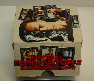 T2 Movie Card Set of 140 Vintage Terminator Two Complete Set Movie Cards Terminator Two Judgment Day Collector Card Set 1991 Movie Cards