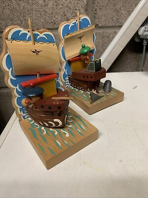 Pair Of Anri Italian Pirate Bookends