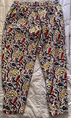 Chefwear Men's Ultimate 100% Cotton Baggy Chef Pants Chili Pepper - 4XL