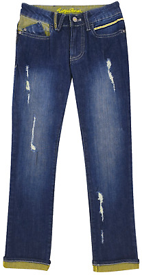 NEW Emporio Armani Junior RRP £169 Designer AGE 7 YRS Kids Boys Jeans Pants A906