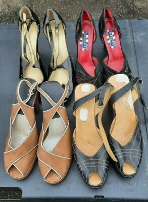 1940s style high heels and wedges Sizes 4-7