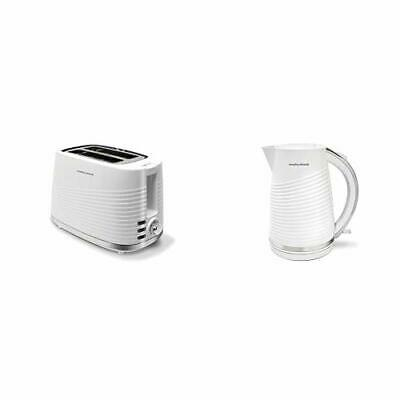 220029 Dune 2 Slice Toaster Defrost and Re-Heat Settings, White
