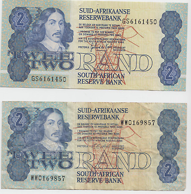 South Africa coin/bank note collection Suid Afrika Rand, Currency