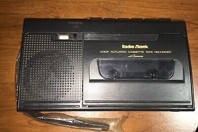 VINTAGE 1993 RADIO SHACK CASSETTE VOICE ACTIVATED TAPE RECORDER CTR-76 *Work*