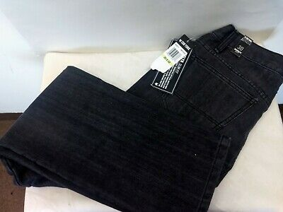 Zoo York Brooklyn Slim Fit Black Denim Men's Jeans Size 30x32 NWT