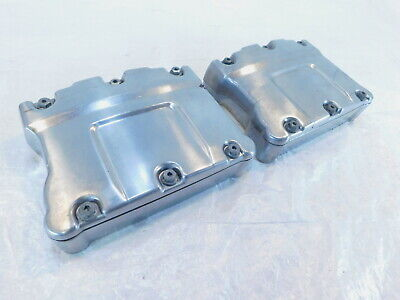 Harley Lucidato Doppia Camme Touring Dyna & Softail Testata Cover Rocker Scatole